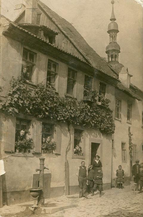 Im Zürch mit Salvatorkirche ca. 1915 - Danke an Franz Weichsel