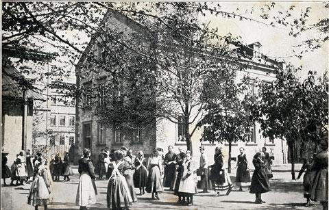 Höhere-Töchter-Schule An den Schanzen um 1915