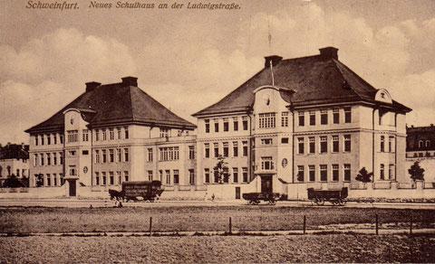 Die Ludwigschule ca. 1912