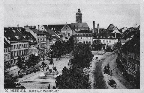 Marktplatz ca. 1928