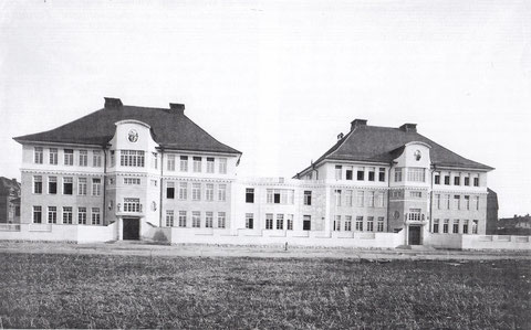 Die Ludwigschule - neu erbaut - 1908