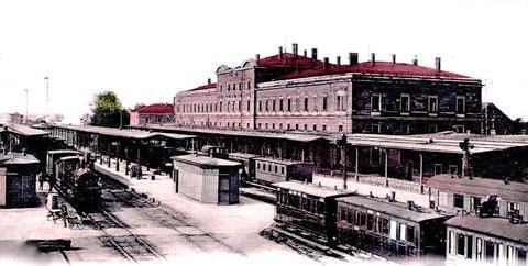 Hauptbahnhof um 1900