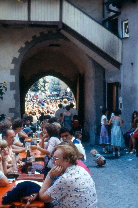 Kirchweih 1982 - Danke an Peter Wiegand