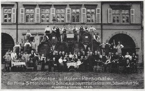 Fa. Mohrenwitz gab es Kornmarkt 5 (hier im Bild) abund Neutorstraße 7 - hier S. Mohrenwitz - Gebrüder Mohrenwitz finden sich im Adressbuch 1921 unter Kornmarkt 5 - Sigmund Mohrenwitz findet sich im Adressbuch 1886 unter Obere Straße 1