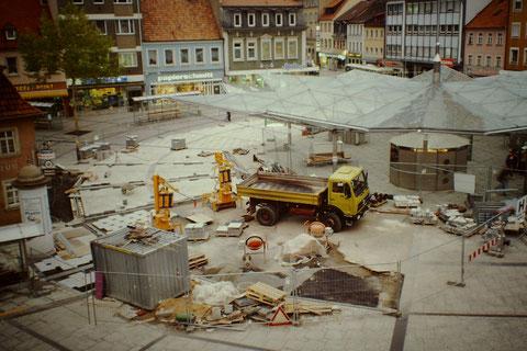 1996 Ein neuer Belag - Foto: Rudolf Steiche