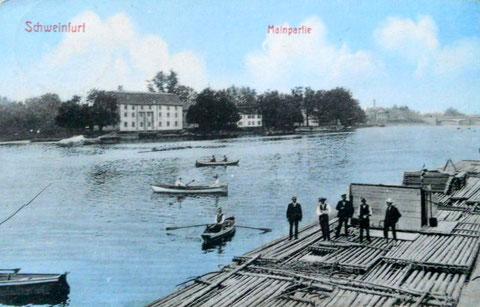Am Main - Flößer - ca. 1920