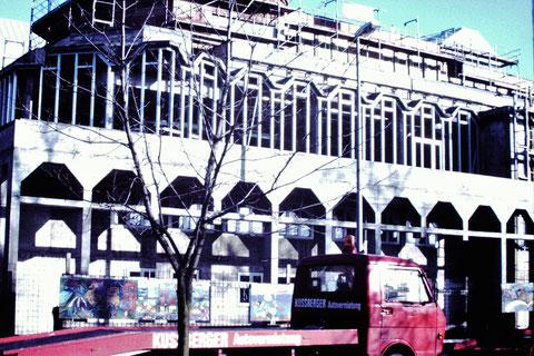 1988 - Ämtergebäude - Damals gab es noch in der Alten Bahnhofstraße die Kußberger Autovermietung, die Herbert Stauch betrieb. Danke an Christel Feyh