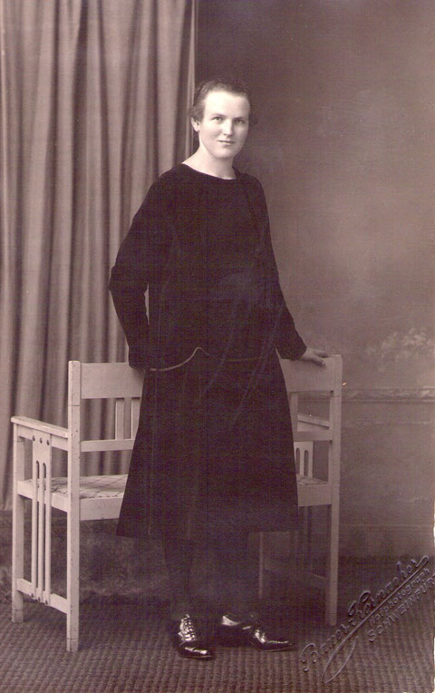 Marie Grimmer verh.Alt Tochter v.Heinrich Grimmer