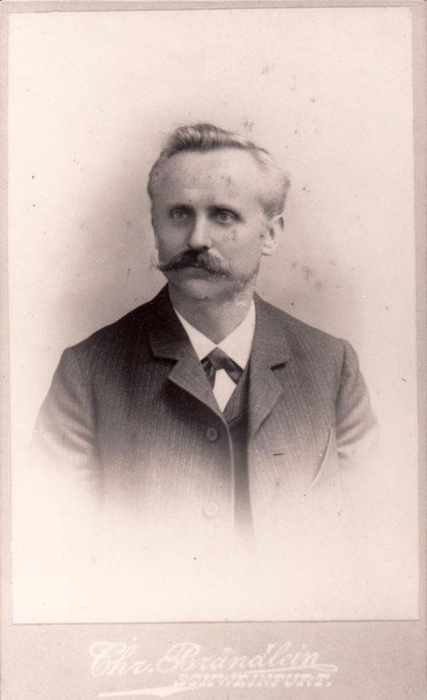 Christiph Brändlein ca 1910