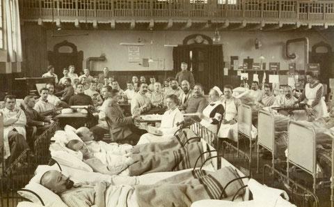 Lazarett im Ersten Weltkrieg