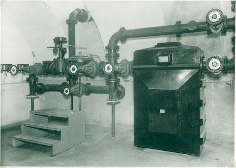 Gas- Meß- und Regelanlage im VKF Werk I 1930er