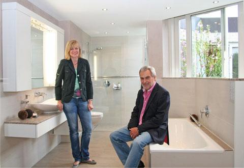 Geschäftsfüherer Carolin Galanis und Ludwig Schuler