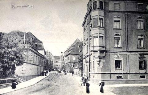 Einige Jahre später - hier ca. 1910 - gab es das Mühltor leider nicht mehr.....