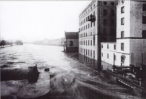 Das Hochwasser im Jahre 1909