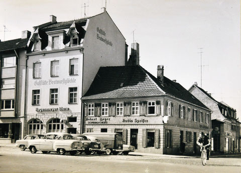 Ecke Kornmarkt/Bauerngasse - Danke an Jennifer Kohl