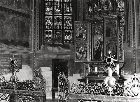 Die Marienkapelle im St. Veitsdom zu Prag. Hier sind die sterblichen Überreste der judith von Schweinfurt beigesetzt