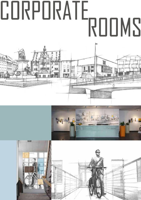 """""""Corporate Rooms, Ronni Zettner"""""""