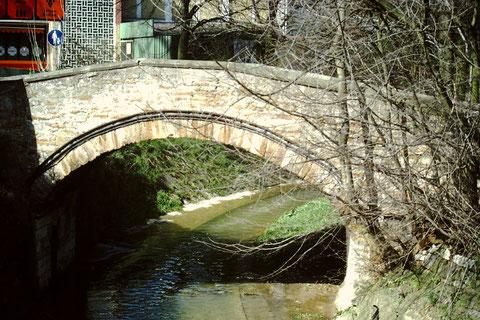 Brücke am Marienbach 1982