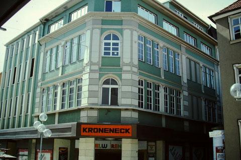 Kaufhaus Kroneneck 1983 - von der Spitalstraße aus gesehen