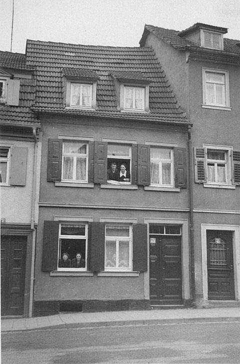 Wolfsgasse 43 - 1930