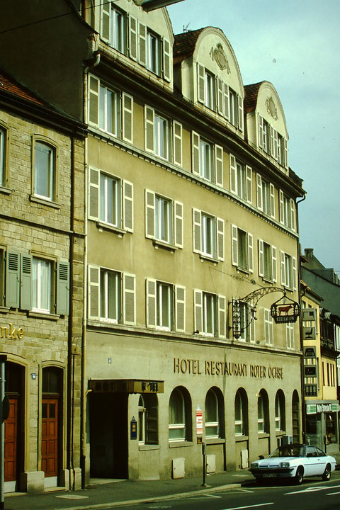Manggasse 1999 mit Hotel u. Restaurant Roter Ochse