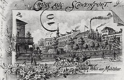 der Untere Wall um 1895