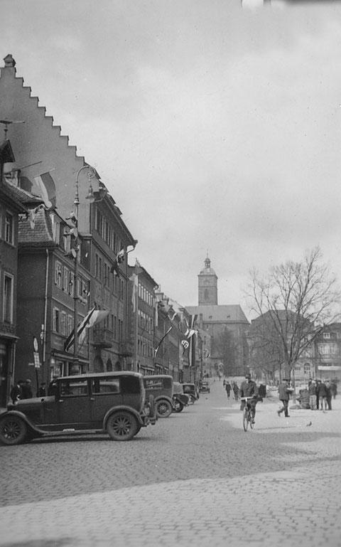 Am Marktplatz 1933 - Danke an Holger Meyer