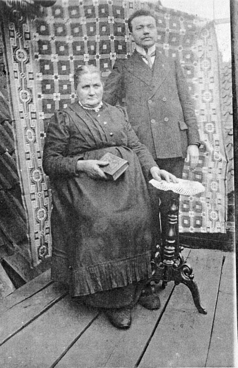 Ludwig Endres mit seiner Mutte - Aufnahmejahr unbekannt
