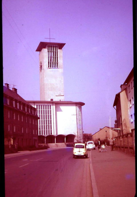 Kilianskirche in den 1970ern