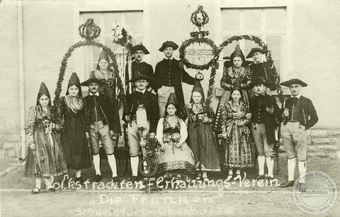 Oberndorfer Tracht - Archiv Elpelt