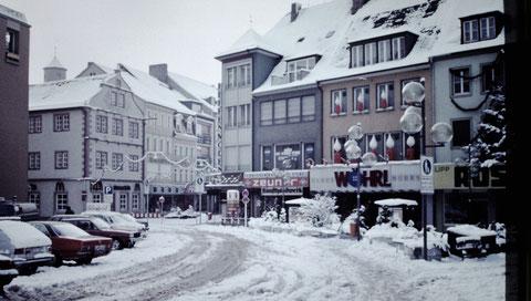 Marktplatz Spitalstraße   25.12.1981
