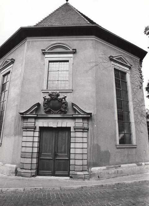 Eingang Salvatorkirche Frauengasse