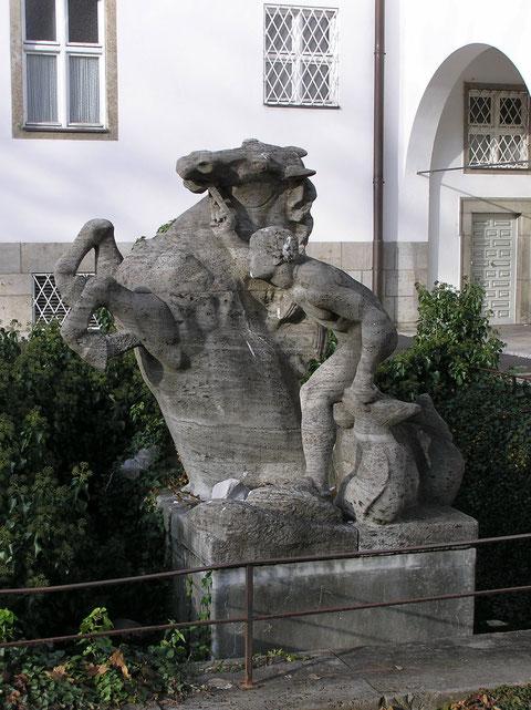 Brunnen an der Kunsthalle