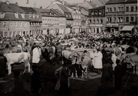Roßmarkt am 17. Juni 1936