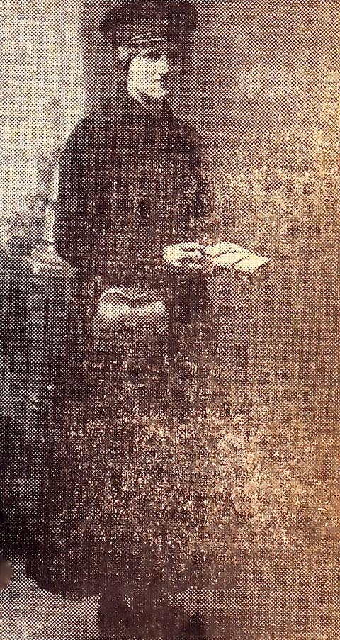 Babette Stegner, die letzte Pferdebahnschaffnerin