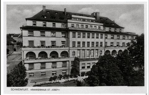 Krankenhaus St. Joseph 1930er-Jahre - Danke an Michael Kupfer