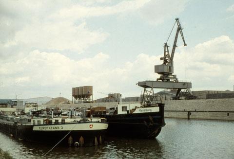 Juni 1966 - Schweinfurter Hafen