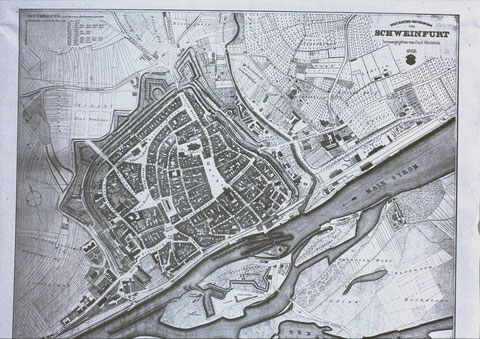 Stadtplan 1868 - Danke an Herbert Weichold