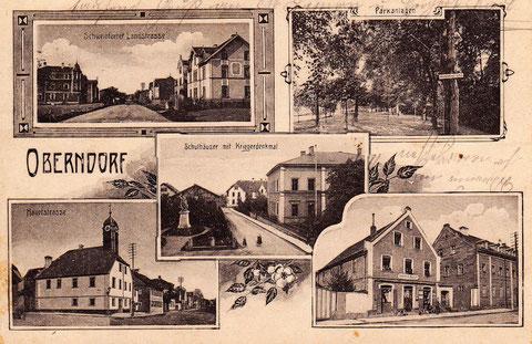 Mehrbildpostkarte aus alten Zeiten