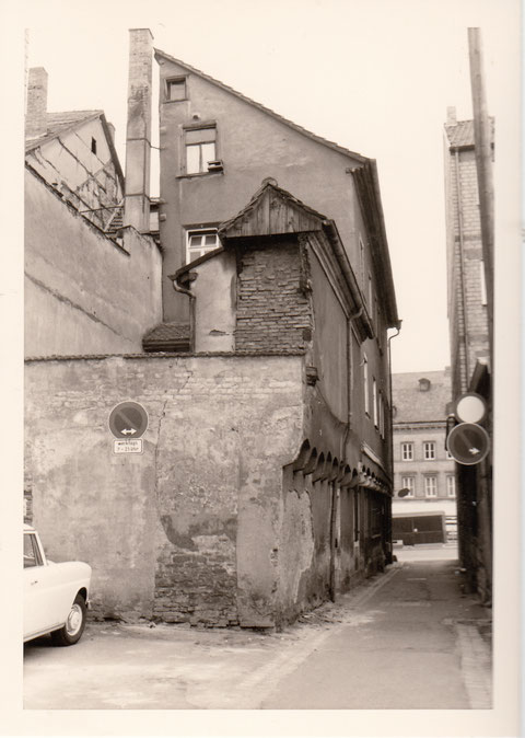 Mai 1971 mit Blick auf Marktplatz