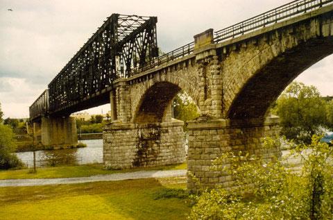 Eisenbahnbrücke Richtung Gerolzhofen