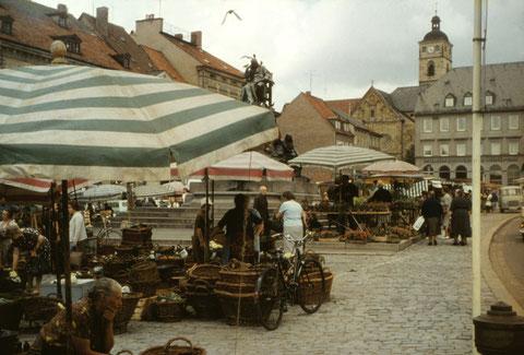 Juni 1966 - Marktplatz Schweinfurt