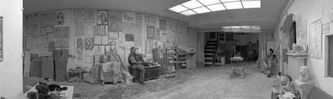 Atelier mit Steff Bauer und Sören Ernst - Bitte durch Anklicken vergrößern Foto: Markus Müller