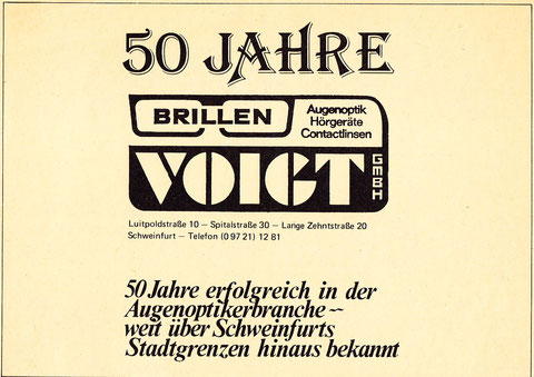 Anzeige aus dem jahr 1979