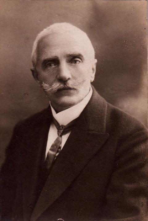 Nikolas Schneider 4.9.1869 - 27.12.1920 - Fischerrain 83 - Bahnmeister