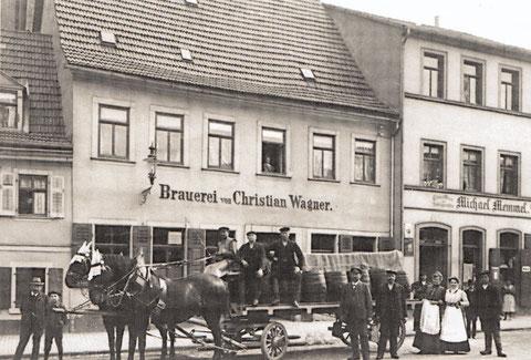 ca. 1910 - Bierkutsche