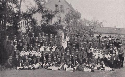 5jähriges Stiftungsfest 1907
