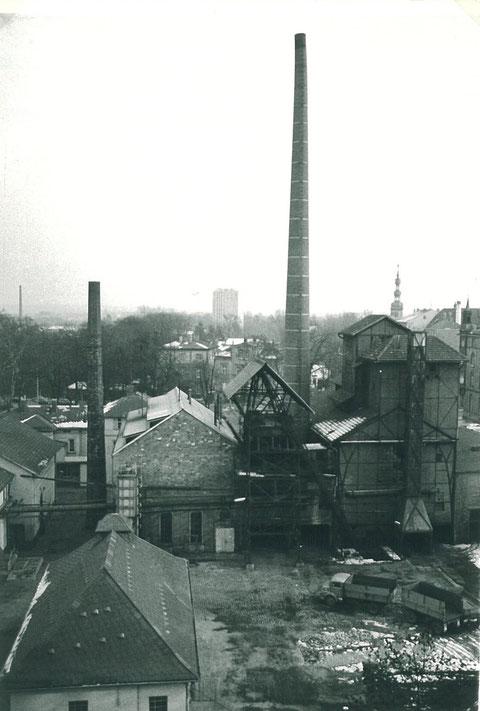 Gaswerk mit Blick nach Süden