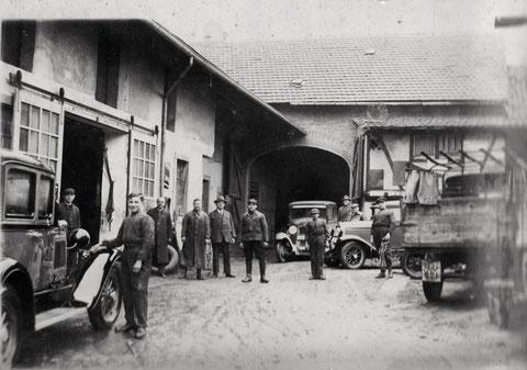 In der Werkstatt Bögner & Gelder Niederwerrner Straße 18, Schweinfurt
