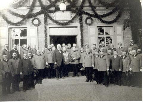 Zur Erinnerung an den Besuch der Schießstätte durch Seine Königliche Hoheit Prinz Ludwig v. Bayern am 10. Mai 1903